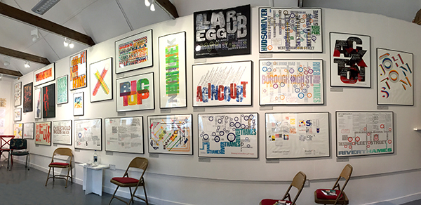 Alan Kitching - Retrospective Exhibition at Lettering and Commemorative Arts Trust