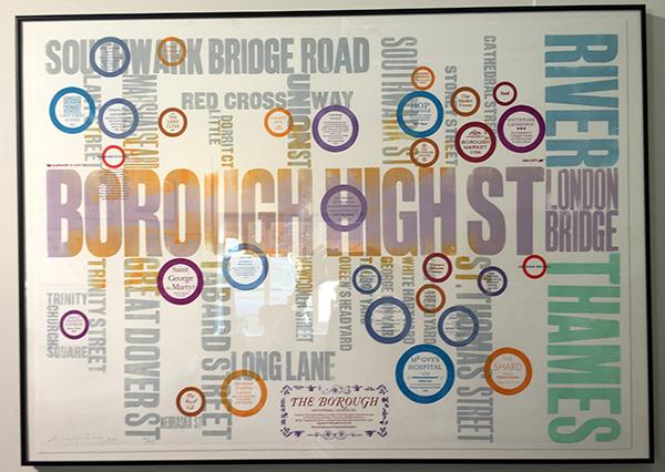 Alan Kitching - Map of London