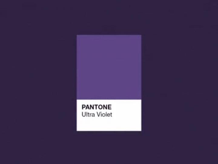 Pantone Ultraviolet 2018