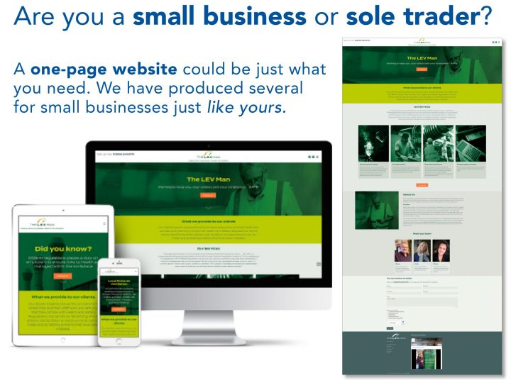 One-page websites